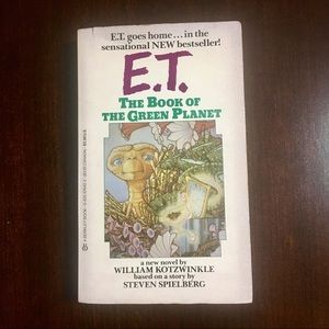 """E.T. : The Book Of The Green Planet"""